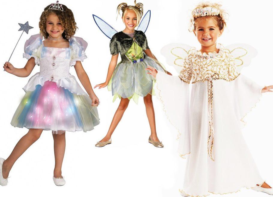 Девочки в костюмах феи
