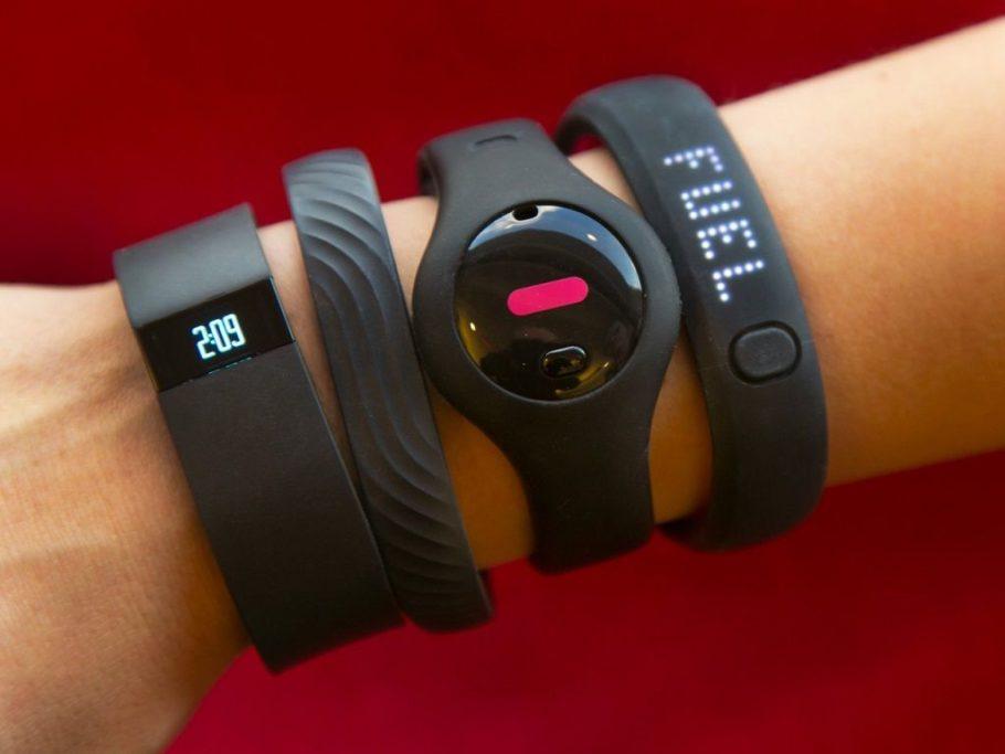 Фитнес-браслеты на руке