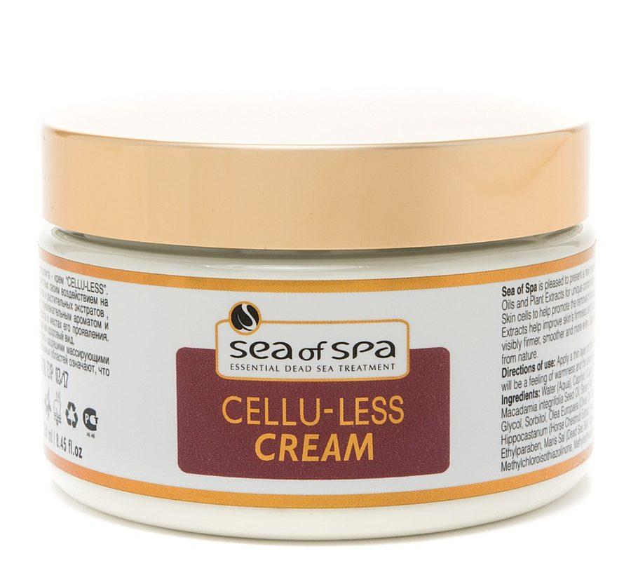 антицеллюлитный крем sea of spa