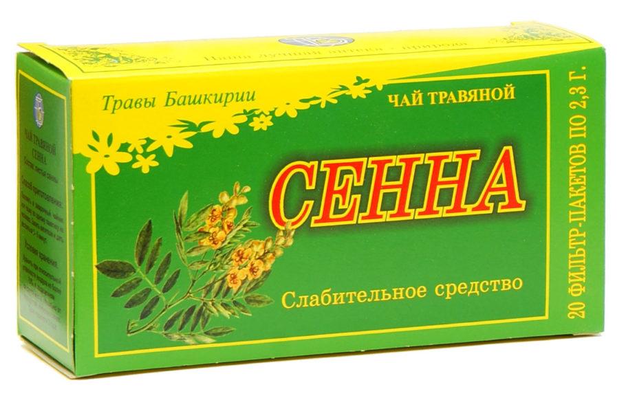 травяной чай сенна