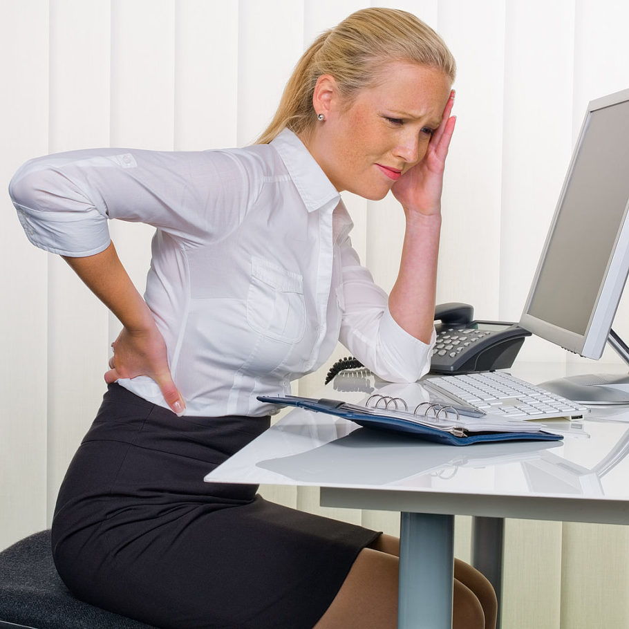 Нельзя не отметить и то, что практически любая сидячая работа предполагает взаимодействие с компьютером, который только ухудшает реальное положение дел