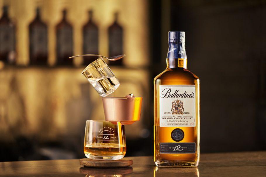 Равновесие стаканов с виски