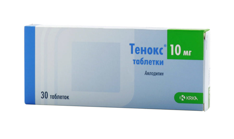 Упаковка препарата Тенокс