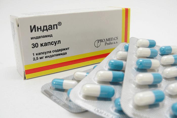 Медикамент влияет на реабсорбцию ионов натрия