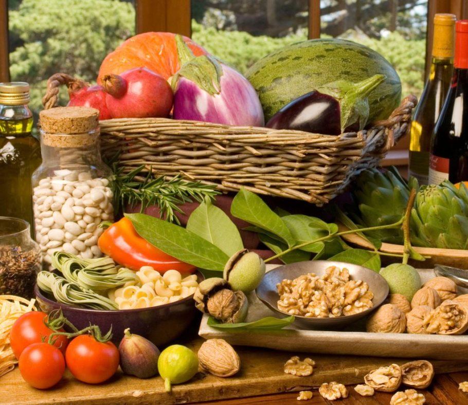 овощи фрукты зелень орехи