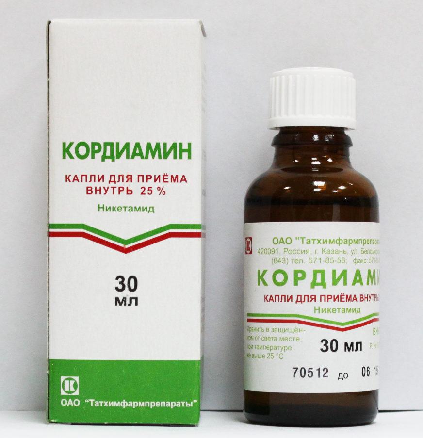 Препарат кордиамин