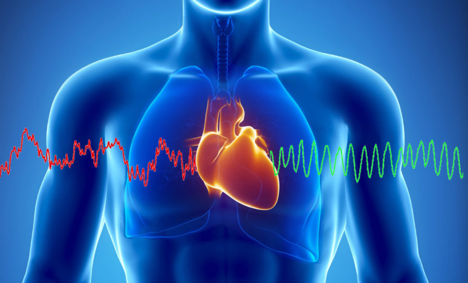 рисунок сердце и пульс