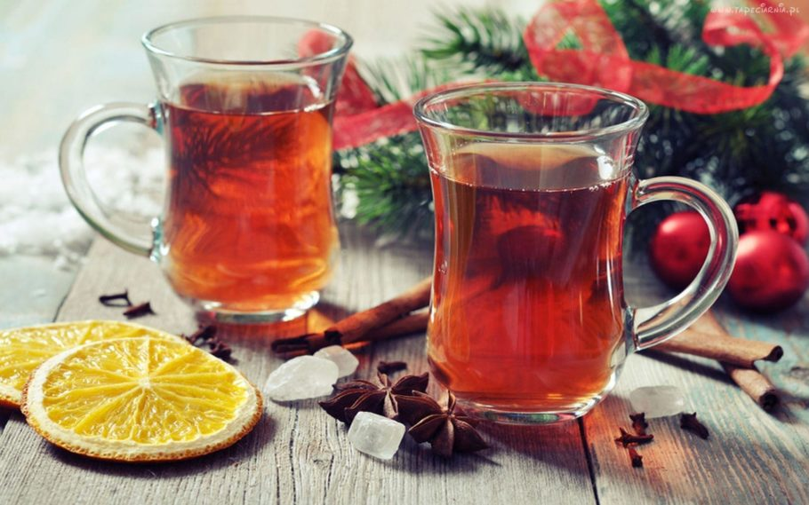 Горячий напиток к Новому году