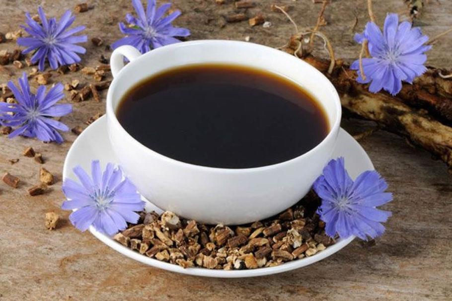 Чашка напитком из цикория