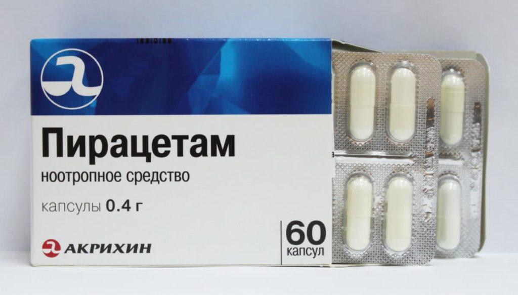 Упаковка таблеток Пирацетам