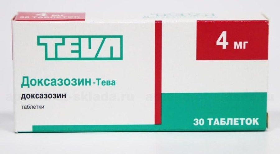 Препарат Доксазозин принадлежит к группе антигипертензивных препаратов, является селективным блокатором альфа-адренорецепторов
