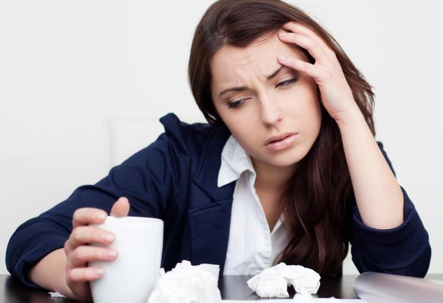 Работа и простуда