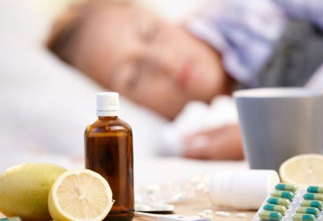 Простуда и постельный режим