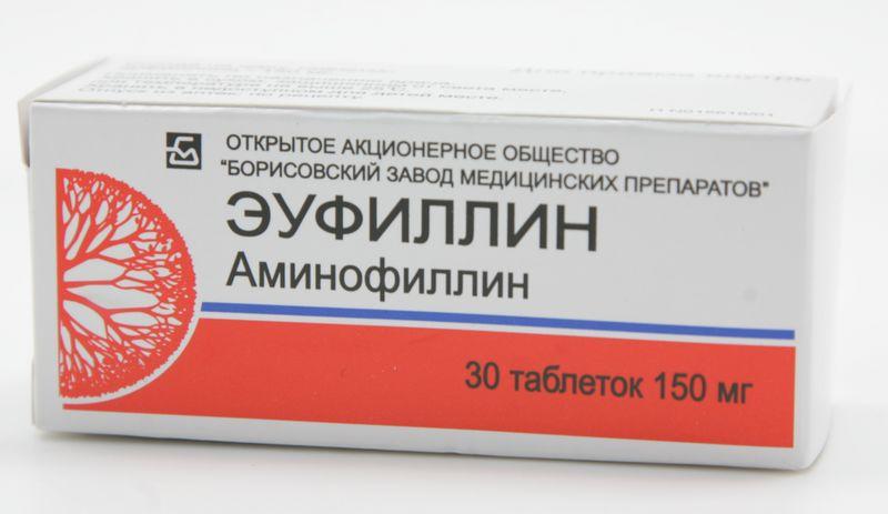 Препарат «Эуфиллин»