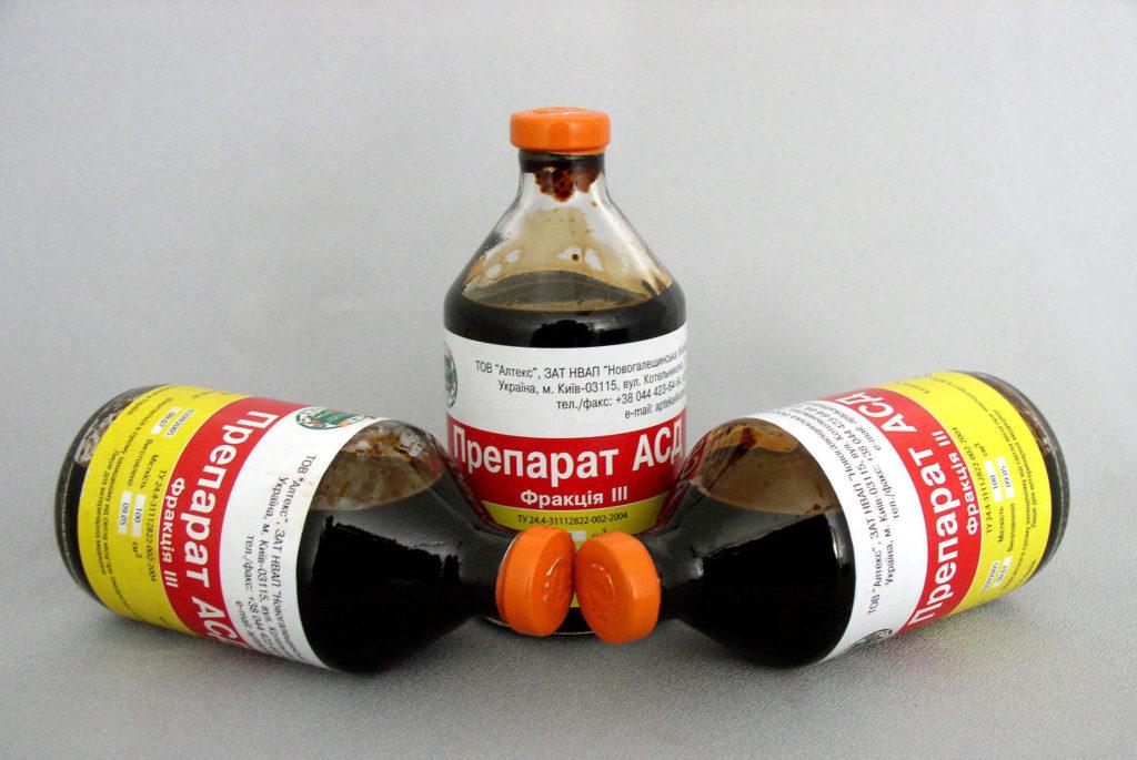 При лечении простатита асд 2