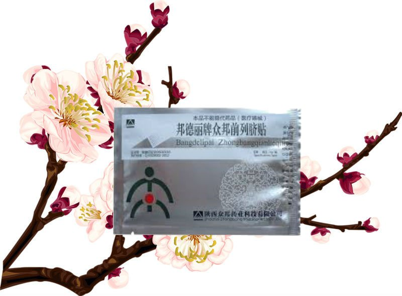 упаковка китайского пластыря от простатита