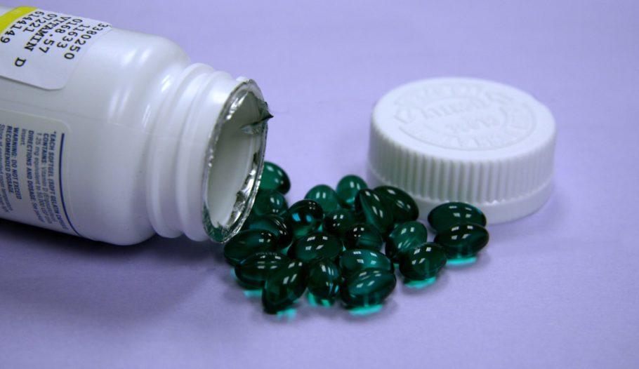 зелёные капсулы