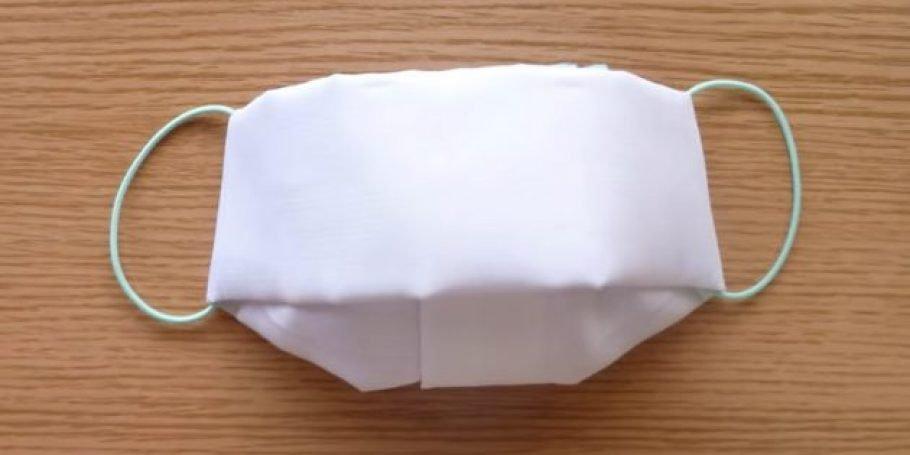 Как сделать медицинскую маску из ткани?
